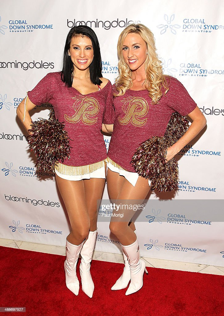 Washington Redskins Cheerleaders attend the 2014 Global Down Syndrome Foundations Be Beautiful Be Yourself DC Gala at Renaissance Mayflower Hotel on May 7, 2014 in Washington, DC.