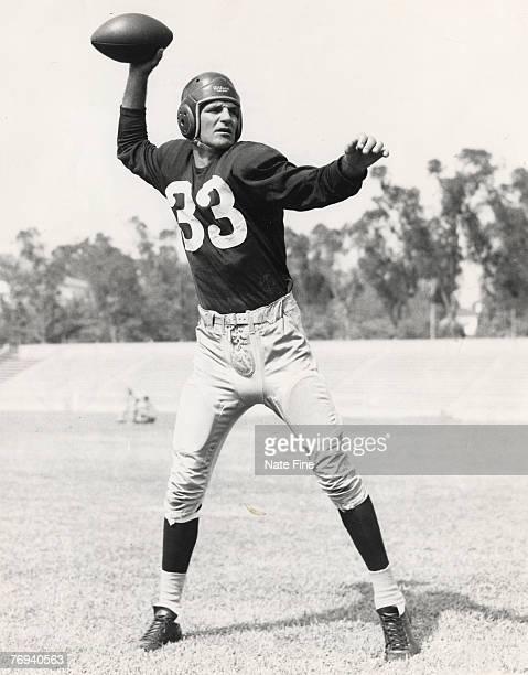 Washington Redskins Hall of Fame quarterback Sammy Baugh in 1948