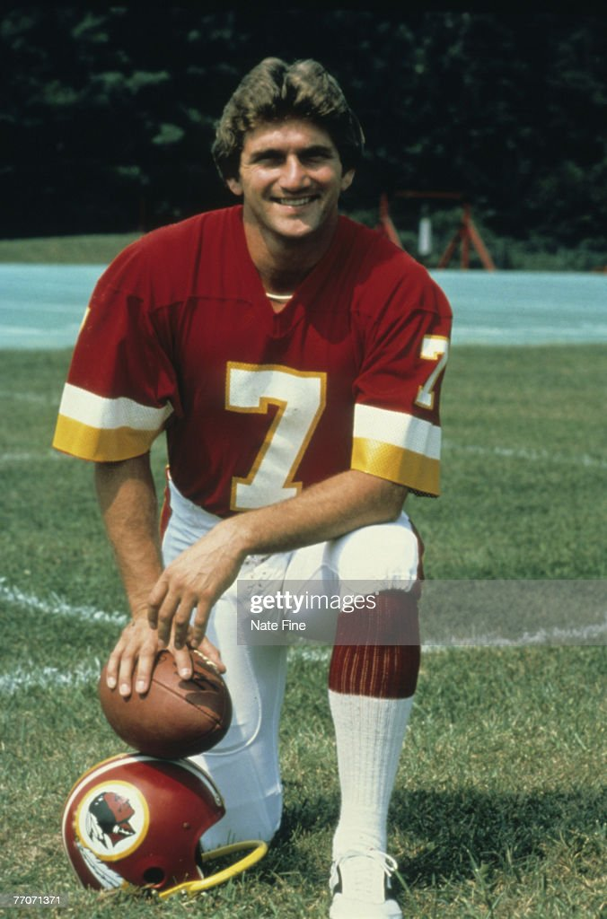 Washington Redskins quarterback Joe Theismann in 1979