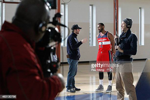 Washington Wizards Point Guard John Wall takes the court at The American Express PIVOT Shoot on January 18 2015 in Washington United States