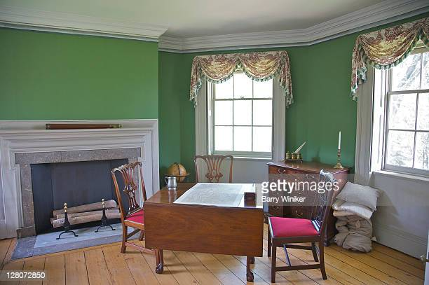 Washington's bed chamber and study, used during fall of 1776, MorrisJumel Mansion Museum, Upper West Side, New York, NY, U.S.A.