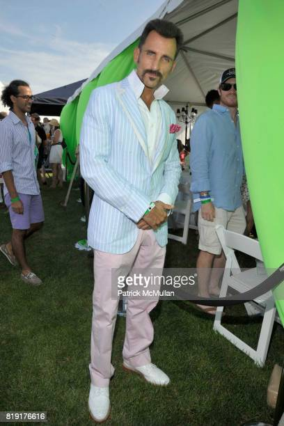 Wass Stevens attend MercedesBenz Polo Challenge Opening Weekend at Blue Star Jets Field at Two Trees Farm on July 24 2010 in Bridgehampton NY