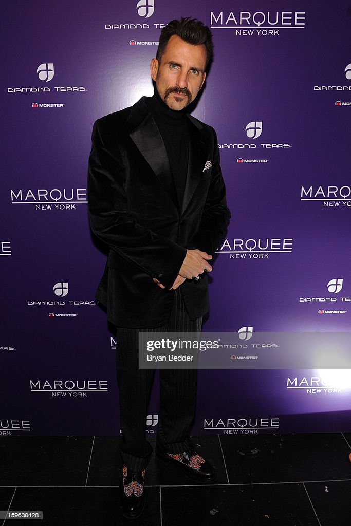 Wass Stevens attends the grand opening of Marquee New York on January 16, 2013 in New York City.
