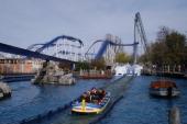 Wasserachterbahn 'Poseidon' im Themenland Griechenland 'Europa Park' Rust bei Freiburg BadenWürttemberg Deutschland Europa Freizeitpark...