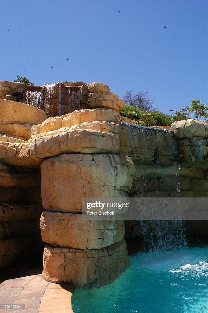Wasserfall Am Pool, U0027Arabella Golf Club Kapstadtu0027, Western Cape, Bei  Hermanus, Südaf Pictures | Getty Images