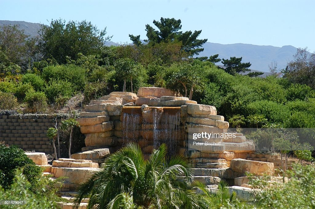 Wasserfall Am Pool, U0027The Western Cape Hotel Spau0027, Kleinmond Bei Kapstadt, Pictures