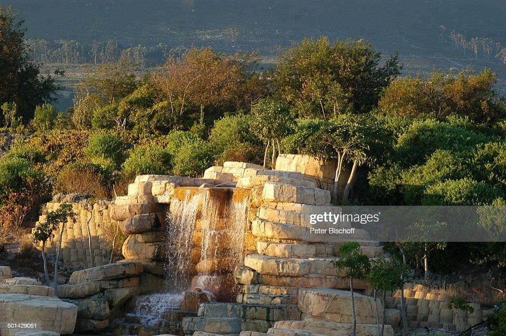 Wasserfall Am Pool, U0027The Western Cape Hotel Spau0027, Kleinmond Bei Kapstadt, Nice Design