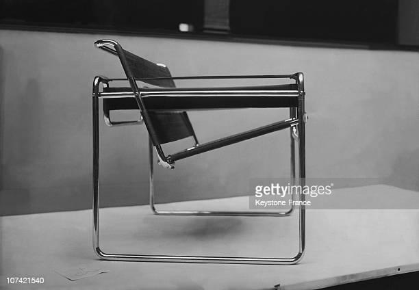 Wassily Chair B3 Design By Marcel Breuer At Bauhaus School
