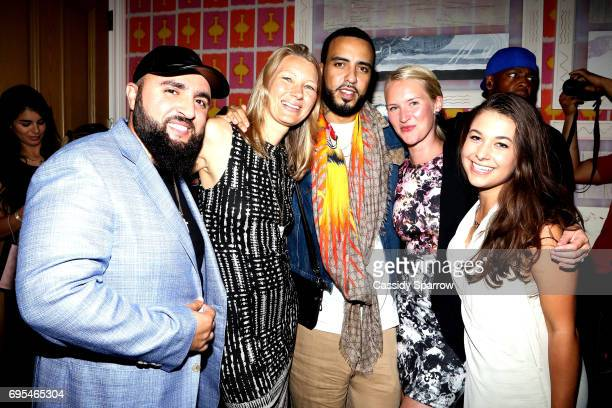 Wassim 'SAL' Slaiby Nyla Rodgers French Montana Katie Carey Nivard and Madison McCormick attend French Montana PROJECT UNFORGETTABLE 'MY STORY THEIR...
