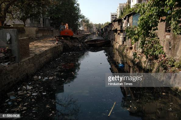 Waste Products Nullah Drain Nallah Garbage Drains The new Technology will first be tested on the drain that runs behind Mithibai College in Vile Parle