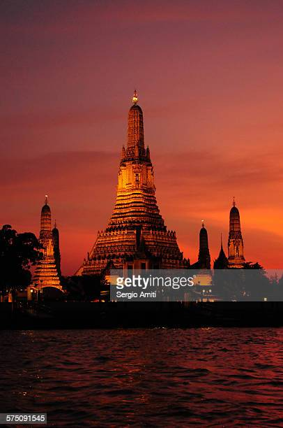 Wat Arun Rajwararam taken at dusk