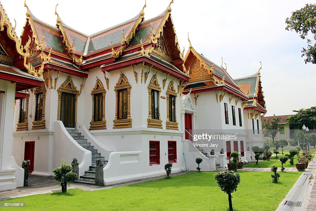 Wat Benchamabophit Bangkok Thailand : Photo
