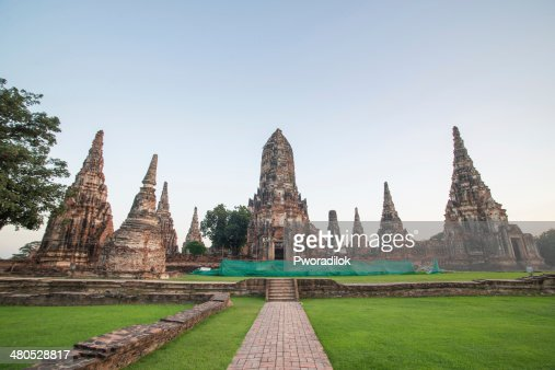 wat chai wattanaram : Stock Photo