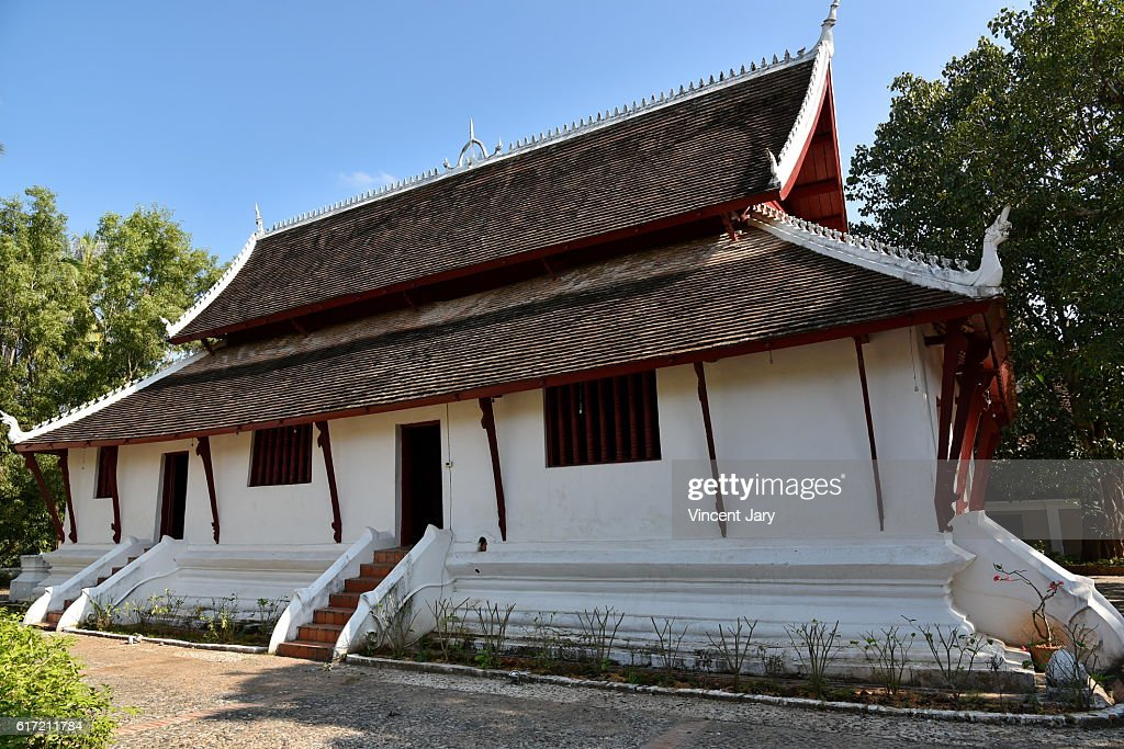 Wat Pak Khan Khammungkhun temple luang prabang Laos Asia : Stock Photo