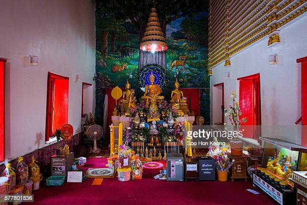 Wat Phai Lom of Koh Kret, Thailand