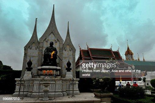 Wat Ratchanatdaram Loha Prasat Bangkok Thailand Stock ...