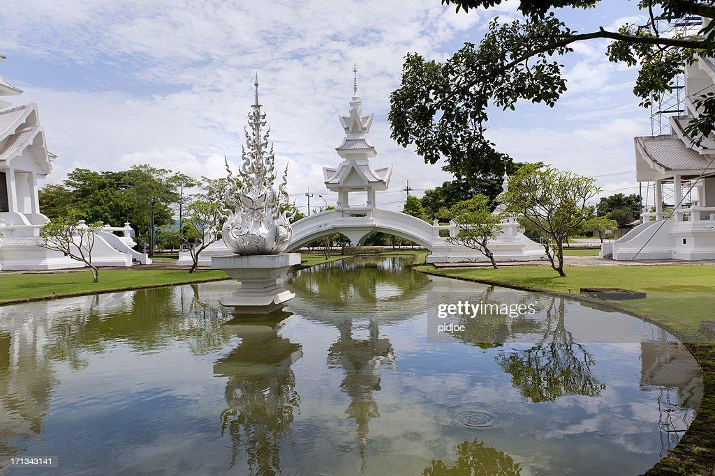 Wat Rong Khun temple in Chiang Rai Thailand