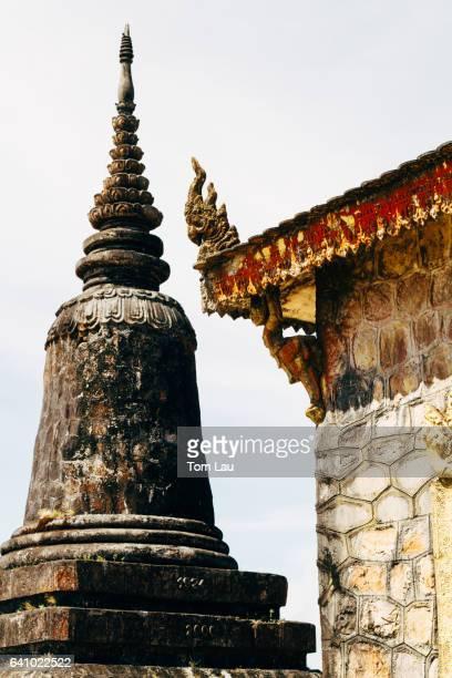 Wat Sampeau Moi Roi at Bokor Hill Station, near Kampot, Cambodia