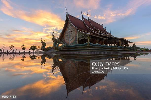 Wat Sirindhorn Wararam Phu Prao in Thailand