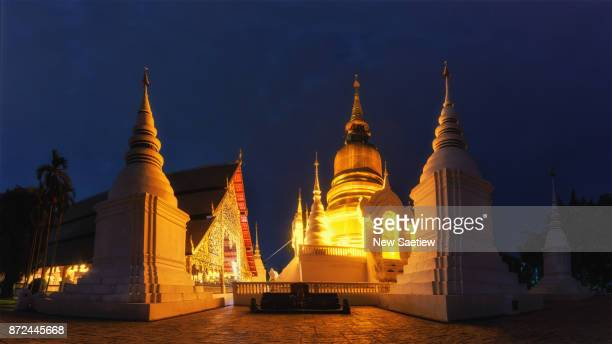 Wat Suan Dorg is a Buddhist temple in Chiang Mai at Northern Thailand.