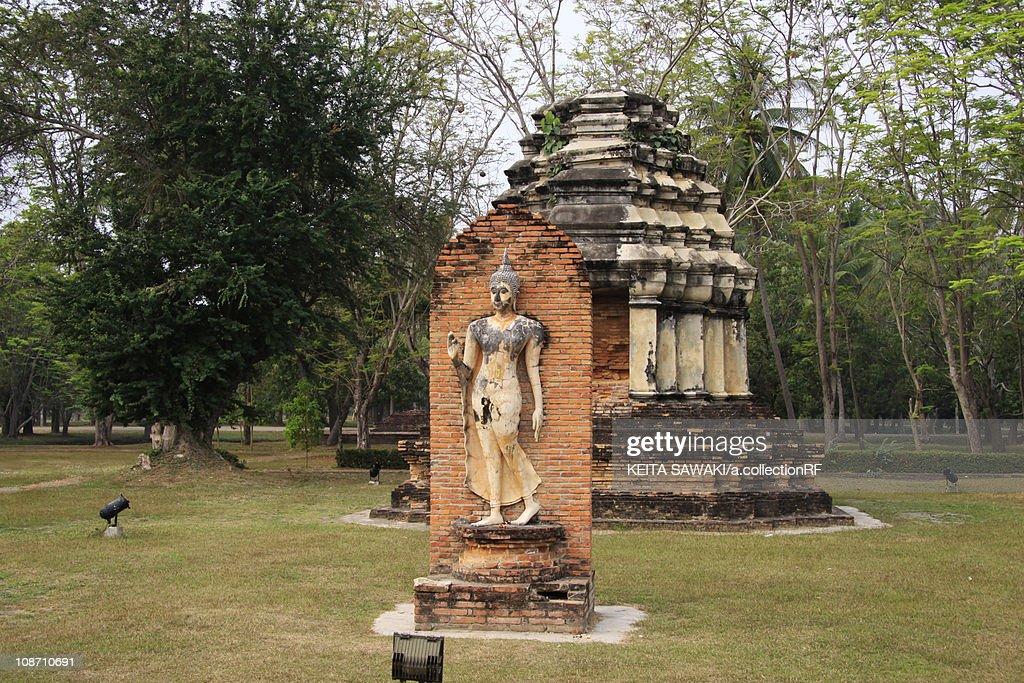 Wat Traphang Ngoen Sculpture Stock Photo  Getty Images