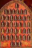 Wat Xieng Thong, Luang Prabang. Tsa tsa figurines.