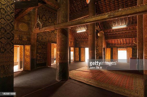 Wat Xieng Thong, sim interior
