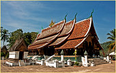 Wat Xieng Thong (buddisth temple) XVI Centruy. Lua