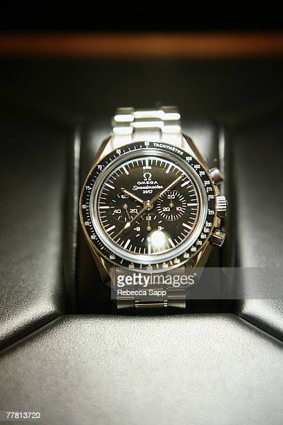 OMEGA watch at OMEGA Speedmaster 50th Anniversary at the OMEGA Boutique on November 7 2007 in Beverly Hills California