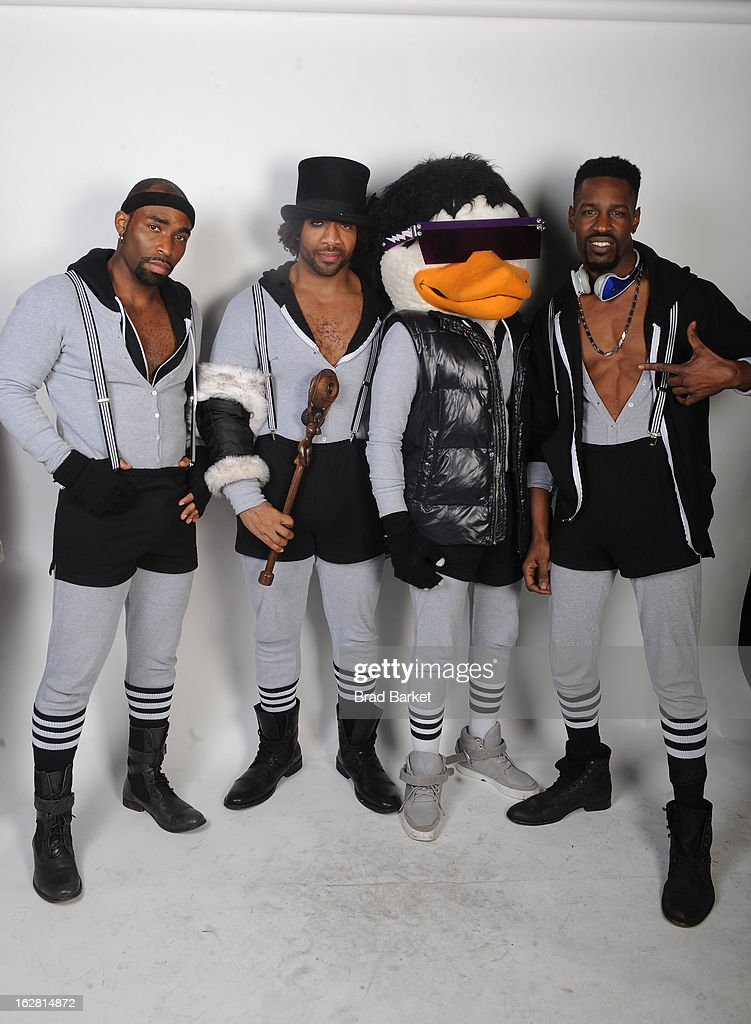 Watch the Duck attends BET's Rip The Runway 2013:Backstage Hammerstein Ballroom on February 27, 2013 in New York City.