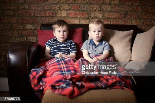 Watching a film : Stock Photo