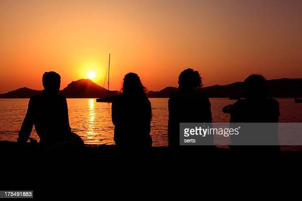 Ver o pôr-do-sol