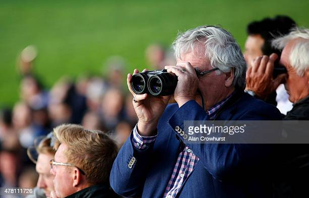 Watching the action at Windsor racecourse on June 22 2015 in Windsor England