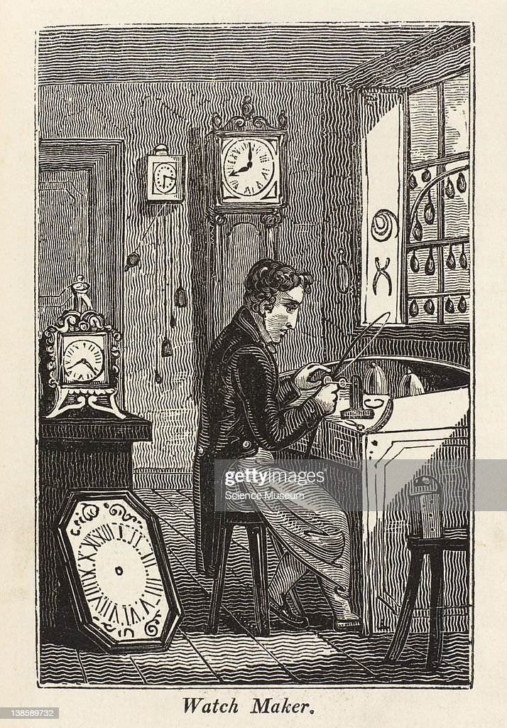 Watchmaking is an employment so well known as to require no description but it is usually combined particularly in the country with that of...