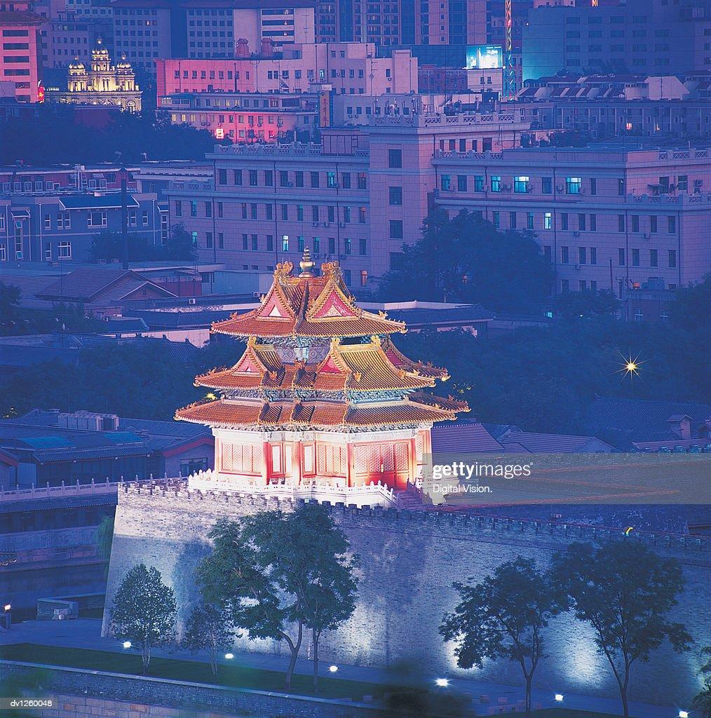Watchtower, forbidden City, Beijing, China