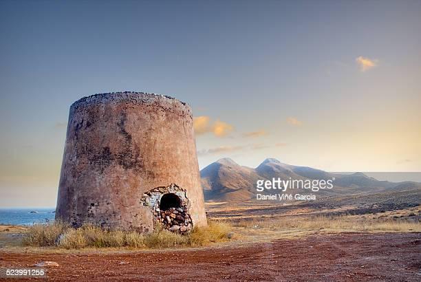 Watchtower near La Isleta del Moro, Cabo de Gata