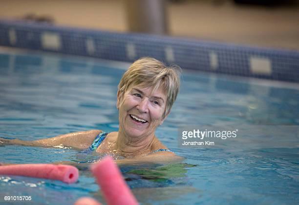 Water Aerobics for Senior Women