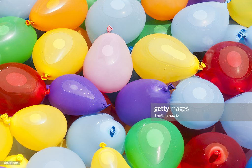 Water Balloons Ready for Battle