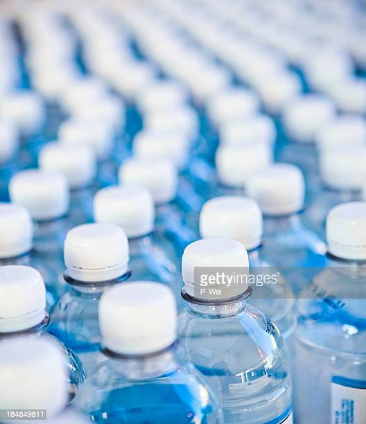 Water bottles bottling plant
