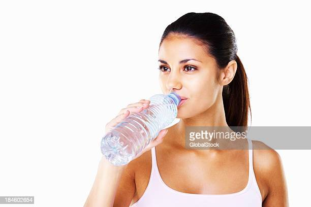 Water break from exercise