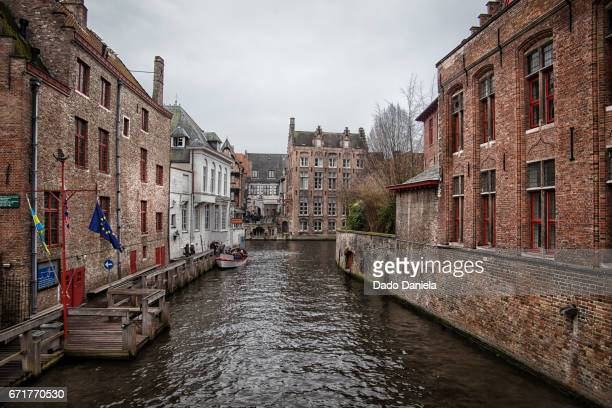 Water Canal Bruges