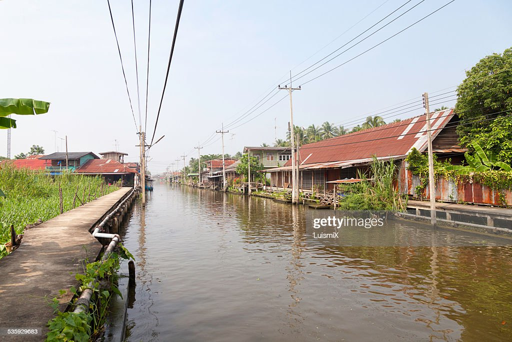 Water channel : Stock Photo