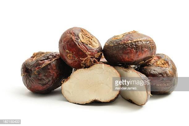 Water chestnut pile