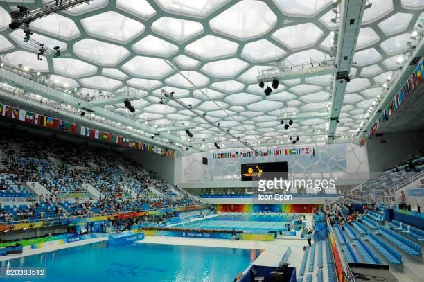 Water Cube Natation synchronisee Finale par equipe Jeux Olympiques de Pekin 2008