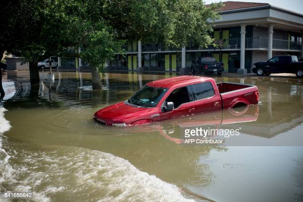 Water damage from a flooded home in Port Arthur Texas on Thursday September 1 2017 Stormweary residents of Houston and other Texas cities began...