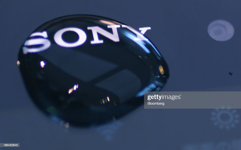 A water droplet sits on the surface of a Sony Corp. Xperia Z1 smartphone at one of the company's showrooms in Tokyo, Japan, on Friday, Sept. 13, 2013. Sony Corp. is betting its Xperia Z1 handset will propel it to No. 3 in the smartphone market, leaping from seventh place by vaulting past competitors such as LG Electronics Inc. and Lenovo Group Ltd. Photographer: Yuriko Nakao/Bloomberg via Getty Images