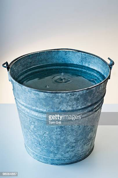 Water dropping into a bucket