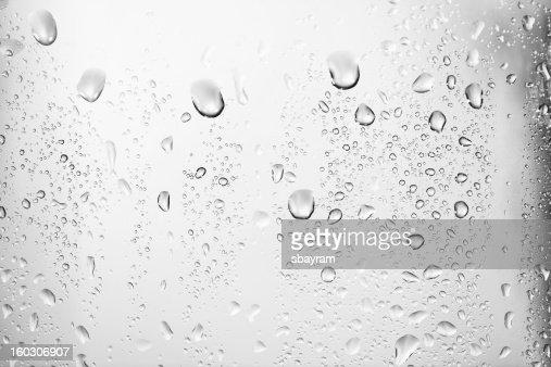 Gotas de água textura
