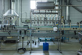 Water factory - Water bottling line for processing and bottling pure spring water into small bottles.