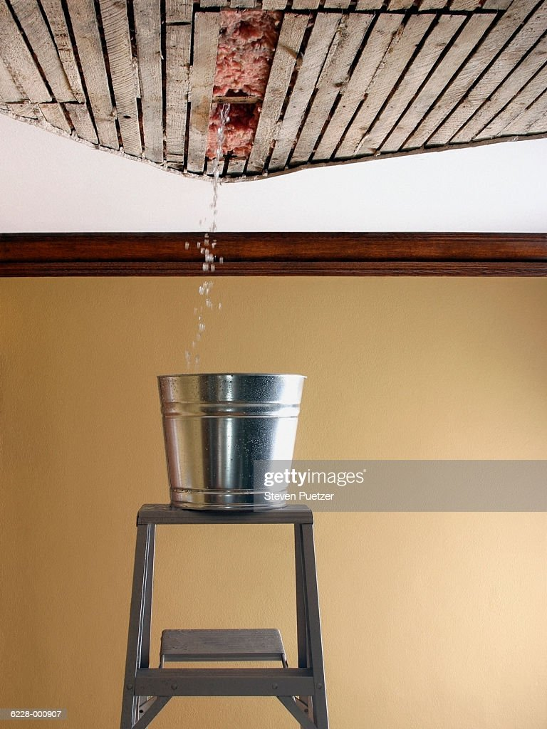 Water Falling from Ceiling